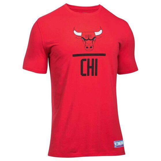 Chicago Bulls Mens Basketball Tee, , rebel_hi-res