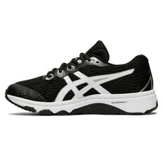 Asics GT 1000 8 Kids Running Shoes, Black / White, rebel_hi-res