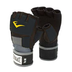 Everlast Evergel Hand Wraps Black M, Black, rebel_hi-res