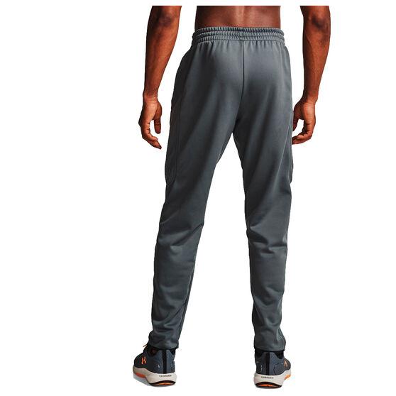 Under Armour Mens Volume Fleece Track Pants, Grey, rebel_hi-res