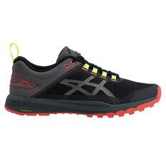 Asics Fuji Lyte XT Mens Trail Running Shoes Grey / Orange US 7, Grey / Orange, rebel_hi-res