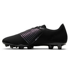 Nike Phantom Venom Academy Football Boots Black US Mens 7 / Womens 8.5, Black, rebel_hi-res