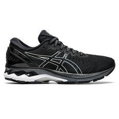 Asics GEL Kayano 27 Womens Running Shoes Black/Silver US 6, Black/Silver, rebel_hi-res
