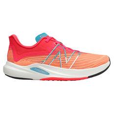 New Balance FuelCell Rebel Womens Running Shoes Orange US 6, Orange, rebel_hi-res