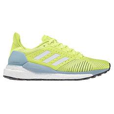 adidas Solar Glide ST Womens Running Shoes Yellow / Grey US 5, Yellow / Grey, rebel_hi-res