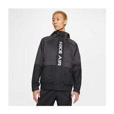 Nike Mens Air Hooded Lined Jacket Black XS, Black, rebel_hi-res
