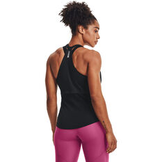 Under Armour Womens UA Streaker Run Tank Black XS, Black, rebel_hi-res