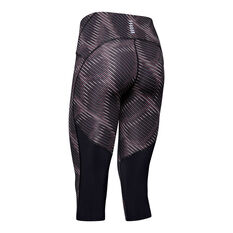 Under Armour Womens Fly Fast Printed Capri Tights Print, Print, rebel_hi-res