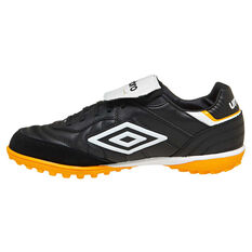 Umbro Specali Eternal Team Mens Touch and Turf Boots Black / White US 7, Black / White, rebel_hi-res