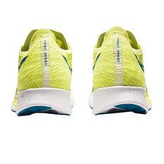 Asics Magic Speed Mens Running Shoes, Yellow/Blue, rebel_hi-res