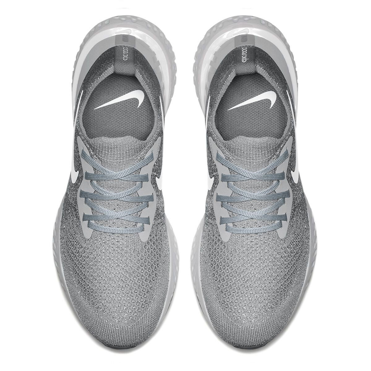 a20a65bc9d51a italy nike epic react flyknit womens running shoes grey white us 7 grey  white 5767d 23ca8