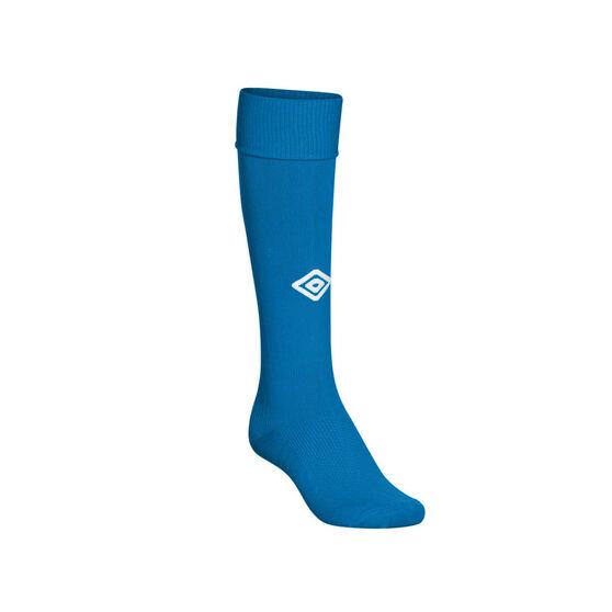 Umbro Mens League Socks, Royal Blue, rebel_hi-res