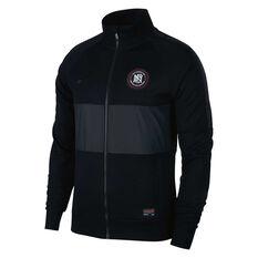 Nike FC Mens Track Jacket Black S, Black, rebel_hi-res