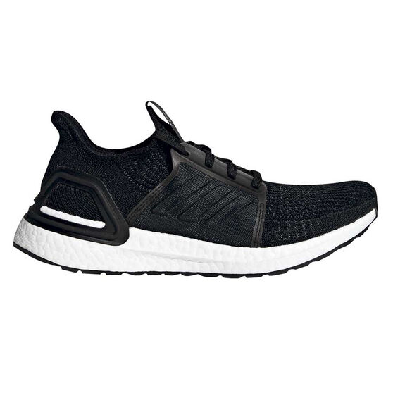 adidas Ultraboost 19 Womens Running Shoes, Black / Grey, rebel_hi-res