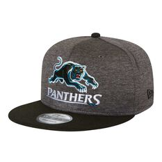 Penrith Panthers 2018 New Era 9Fifty Shadow Cap Grey OSFA, , rebel_hi-res