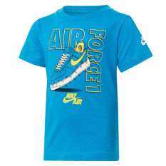 Nike Boys AF1 Connect The Dots Tee, Blue, rebel_hi-res