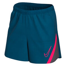 Nike Womens Dri FIT Academy Pro Soccer Shorts, Blue, rebel_hi-res