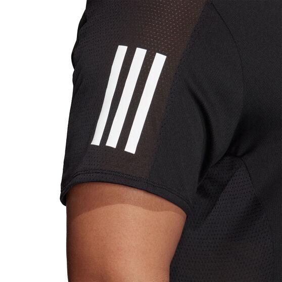 adidas Womens Own the Run Tee Plus, Black, rebel_hi-res
