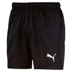 Puma Mens Essentials Woven 5in Shorts Black S, Black, rebel_hi-res