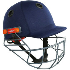 Gray Nicolls Elite Junior Cricket Batting Helmet Navy Youth, Navy, rebel_hi-res