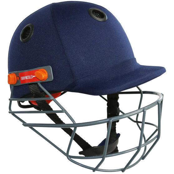 Gray Nicolls Elite Junior Cricket Batting Helmet, Navy, rebel_hi-res