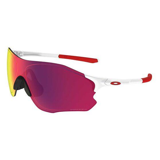 Oakley EVZero Path Prizm Road Sunglasses Matte White / Prizm Road, , rebel_hi-res