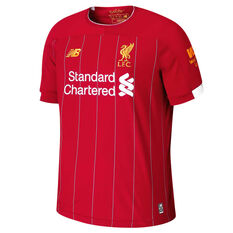 Liverpool FC 2019 / 20 Mens Home Jersey Red S, Red, rebel_hi-res