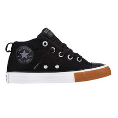 Converse Chuck Taylor All Star Street Junior Casual Shoes Black / White US 11, Black / White, rebel_hi-res
