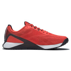 Reebok Nano X1 Mens Training Shoes Red/White US 7, Red/White, rebel_hi-res