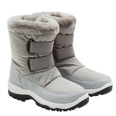 Tahwalhi Jersey Womens Snow Boots Grey 6, Grey, rebel_hi-res
