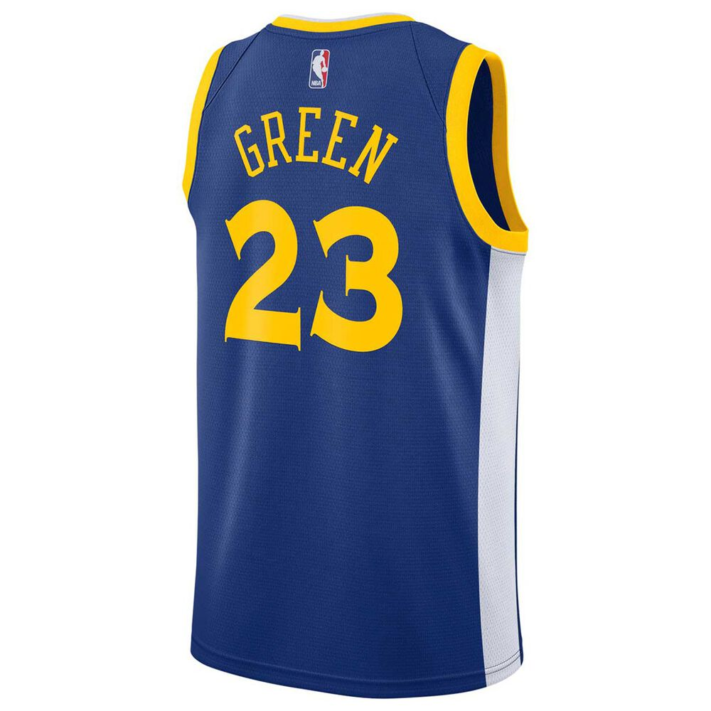info for 51d36 012d6 Nike Golden State Warriors Draymond Green 2018 Mens Swingman Jersey Rush  Blue XL