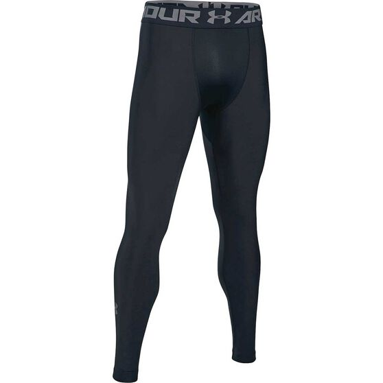 Under Armour Mens HeatGear Armour 2 Leggings, Black, rebel_hi-res