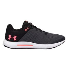 Under Armour Micro G Pursuit Womens Running Shoes Black / Grey US 6, Black / Grey, rebel_hi-res
