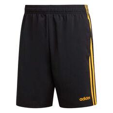 adidas Mens Essentials 3 Stripes Chelsea Shorts Black XS, Black, rebel_hi-res