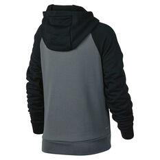 Nike Boys Dry Polar Fleece Hoodie Grey XS, Grey, rebel_hi-res