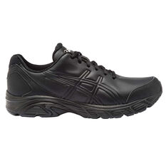 Asics Gel Advantage 3 Womens Walking Shoes Black US 9, Black, rebel_hi-res