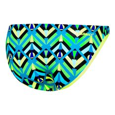 Speedo Womens Low Rise Pant Blue / Green 6, Blue / Green, rebel_hi-res