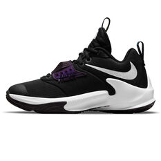 Nike Zoom Freak 3 Kids Basketball Shoes Black US 4, Black, rebel_hi-res