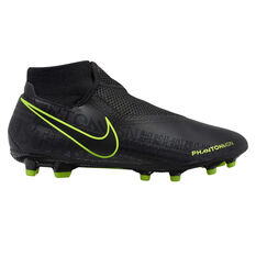 Nike Phantom Vision Academy Dynamic Fit Football Boots Black / Yellow US Mens 7 / Womens 8.5, Black / Yellow, rebel_hi-res