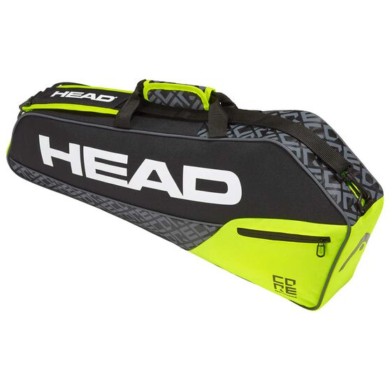 Head Core 3R Pro Racquet Bag Black / Yellow, Black / Yellow, rebel_hi-res