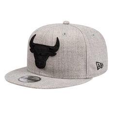 Chicago Bulls New Era 9FIFTY Heather Blackout Cap, , rebel_hi-res