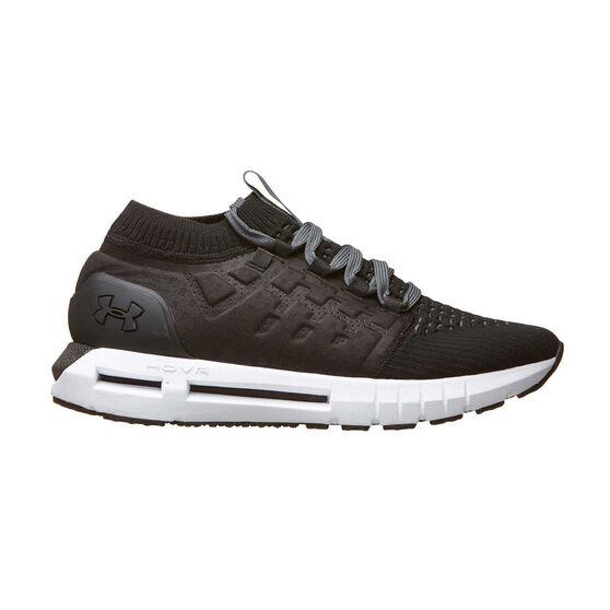 Under Armour HOVR Phantom August Mens Running Shoes, Black / White, rebel_hi-res