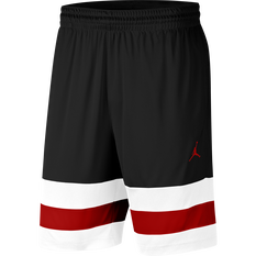 Nike Mens Jordan Jumpman Basketball Shorts Black / White XS, Black / White, rebel_hi-res