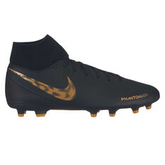 Nike Phantom Vision Club Mens Football Boots Black / Gold US Mens 7 / Womens 8.5, Black / Gold, rebel_hi-res