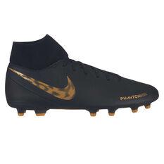 07da581a3 Nike Phantom Vision Club Mens Football Boots Black   Gold US Mens 7    Womens 8.5