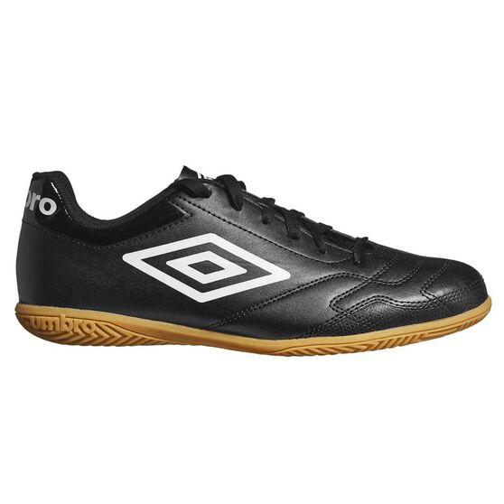024a6d002 Umbro Classico VI IC Mens Football Boots Black / White US 7 Adult, Black /