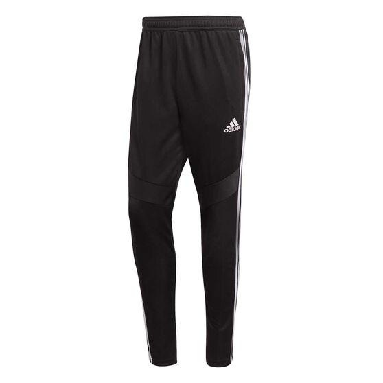 adidas Mens Tiro 19 Training Pants, Black / White, rebel_hi-res