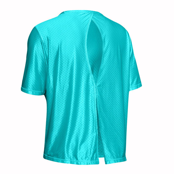 Under Armour Womens Armour Sport Tee, Blue, rebel_hi-res