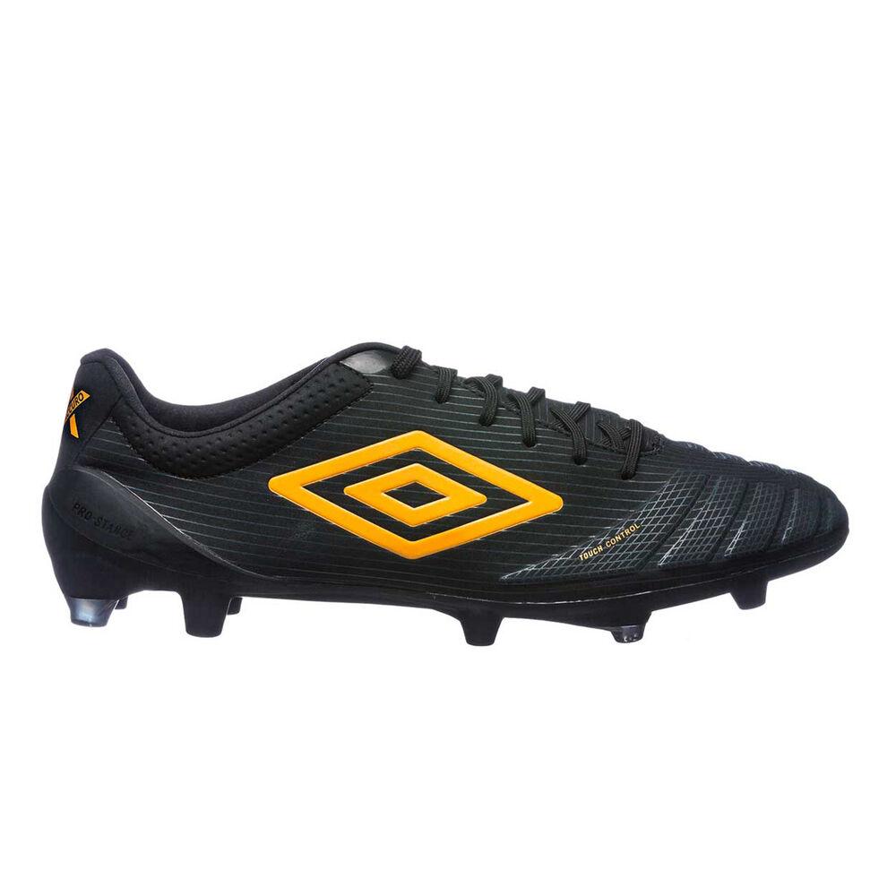 05b8d7ebd7 Umbro UX Accuro Pro Mens Football Boots Black / Orange US 8.5 Adult, Black /