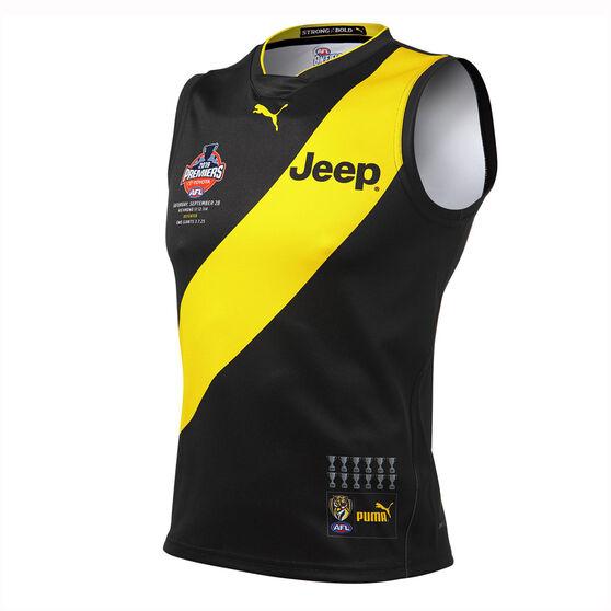 Richmond Tigers Kids 2019 Premiership Guernsey, Black / Yellow, rebel_hi-res